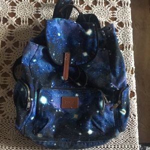 Authentic PINK Backpack: Galaxy Print